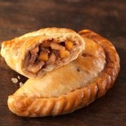 Large steak Cornish pasty