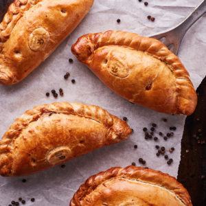Peppered Steak Pasty