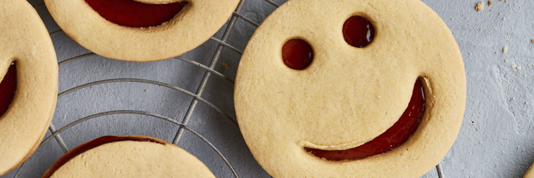 Show us your Smiley Face Biscuits to win!