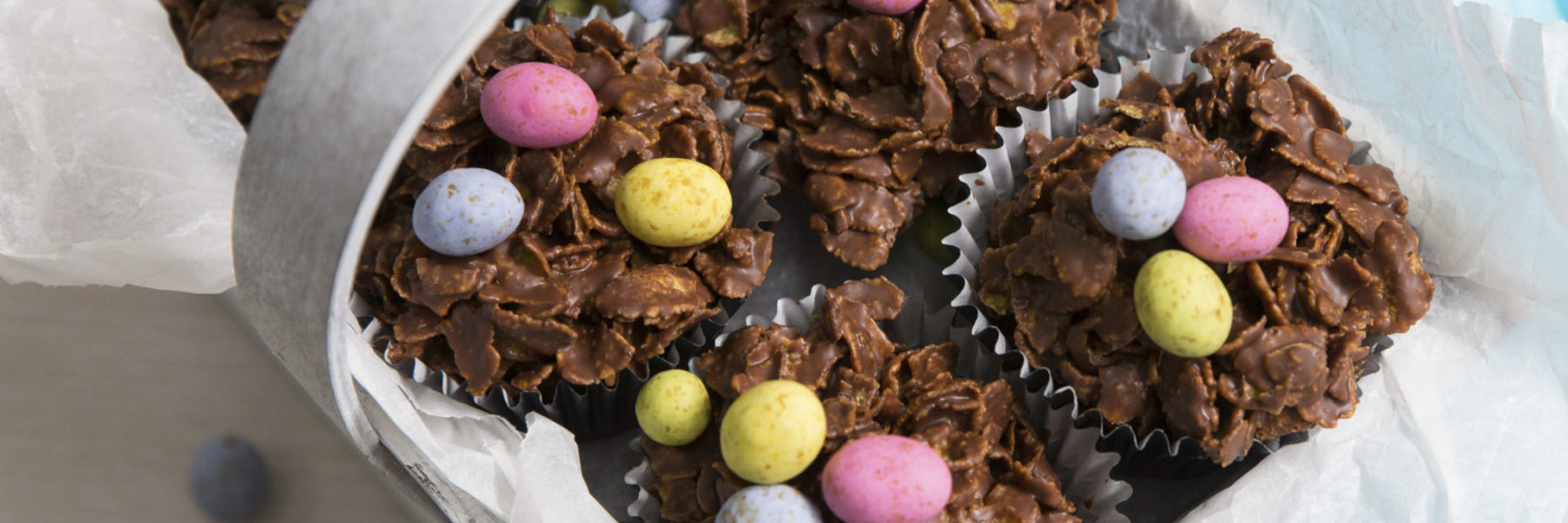 Make your own Easter Egg Nests (and win!)