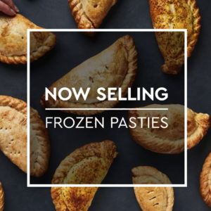 Get 30% off Frozen Pasties when you collect from a store!
