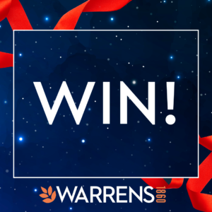 WIN with Warrens 12 Days of Christmas!